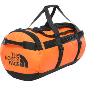 The North Face Base Camp Duffelilaukku M, persian orange/tnf black
